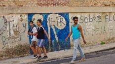 Graffiti de Yulier P. calle San Lazaro, La Havane, octobre 2016.