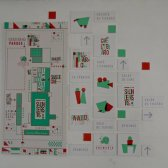 Enguayabera à Alamar : superbe signalétique intégrée au projet