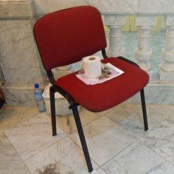 Gran Teatro de La Habana : un détail pour redescendre sur terre