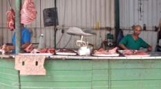 Une boucherie de Centro Habana, 2016