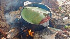Cangrejo à la Ford, 2e étape de cuisson