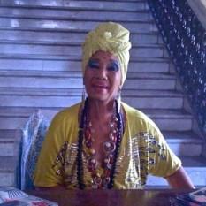 Carmencita Iznaga au Palacio del Valle, Cienfuegos 2010.