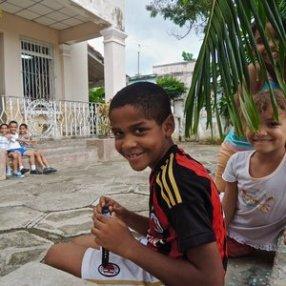 Santiago, enfants au centre aéré, Vista Alegre 2015