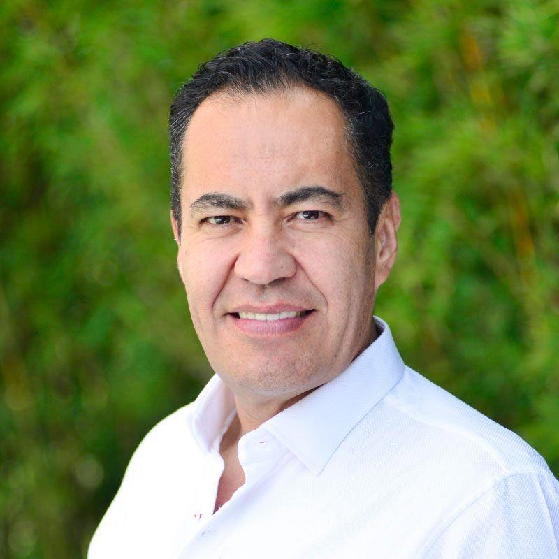 Carlos Herrera, uno de los candidatos a gobernador en Michoacán