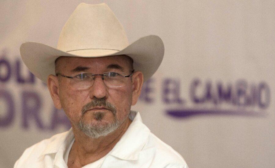 Hipólito Mora, uno de los candidatos a gobernador en Michoacán