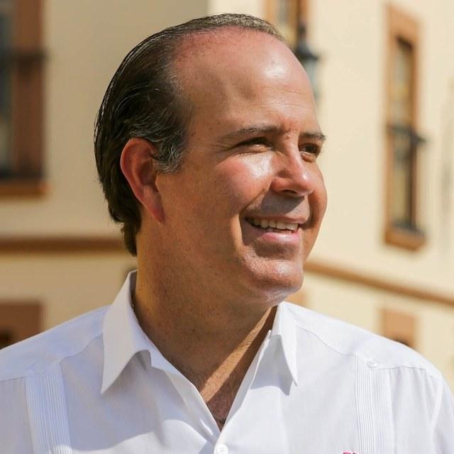 Juan Carlos Martínez, uno de los candidatos a gobernador en Querétaro
