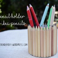 DIY Pencil Holder Using IKEA Pencils! ✂️✏️