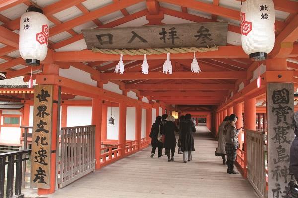 客神社 回廊入り口