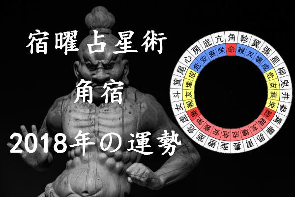 2018年 角宿 運勢