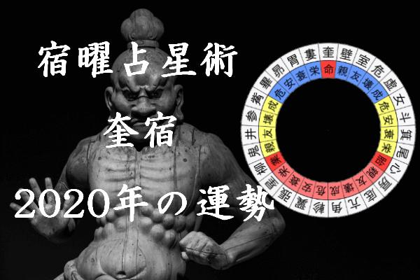 2020年 奎宿 運勢