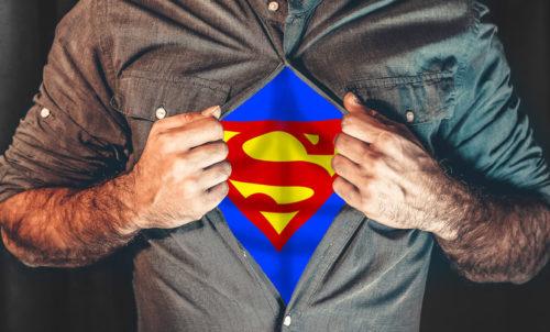 スーパーマンイメージ