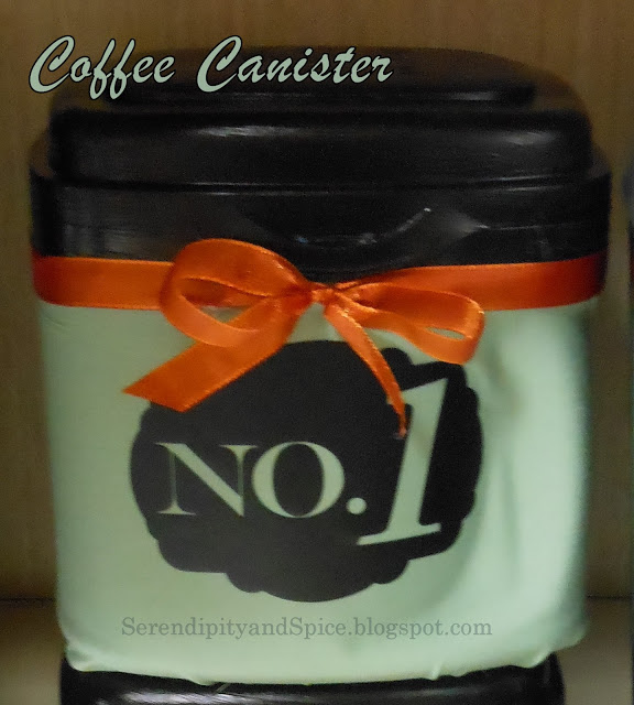Formula Container to Coffee Canister