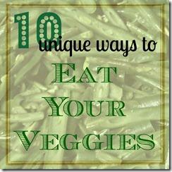 10 Unique Vegetable Recipes