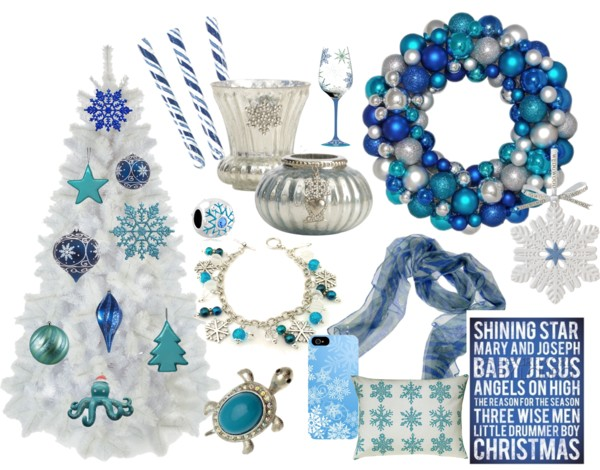Dreaming of an Elegant Blue Christmas