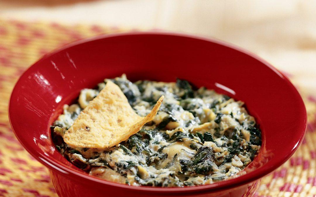 Sumptuous Slow Cooker Spinach Artichoke Dip