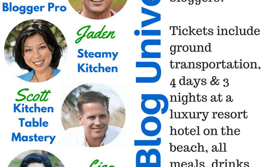 Food Blog University- A Blogger Conference