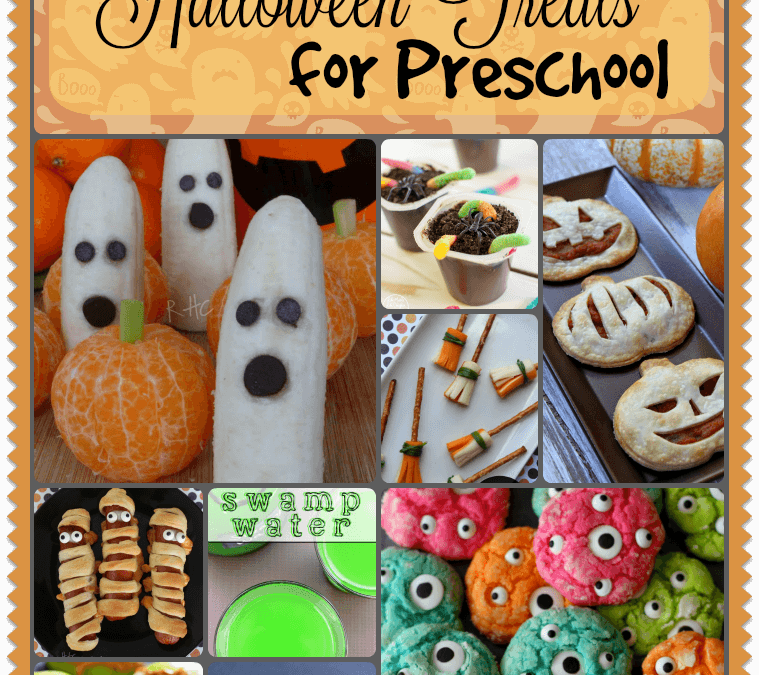 Halloween Treat Recipes for Preschool