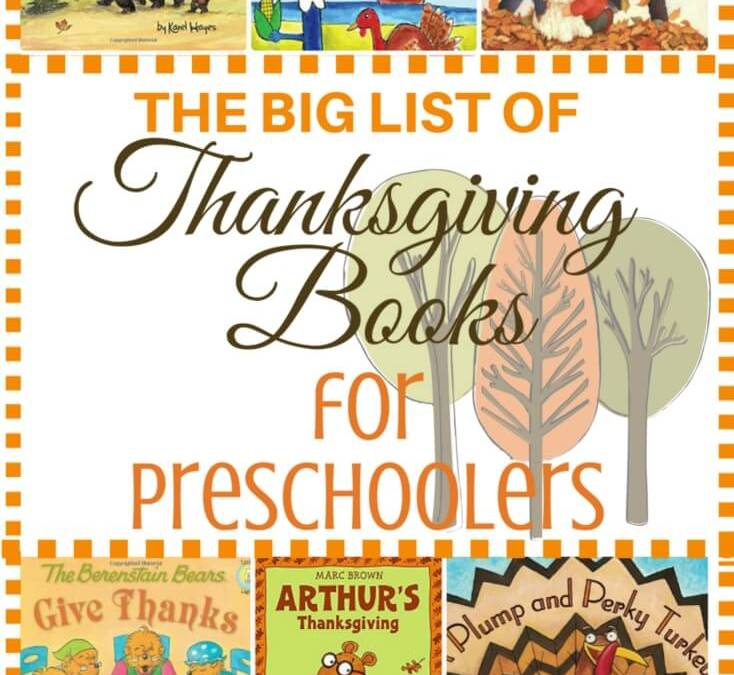 The Best Thanksgiving Books for Preschoolers