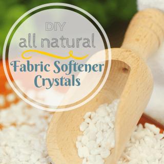 DIY All Natural Fabric Softener Recipe