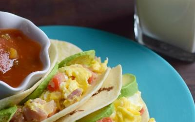 Breakfast Tacos Recipe #MyMorningProtein ad