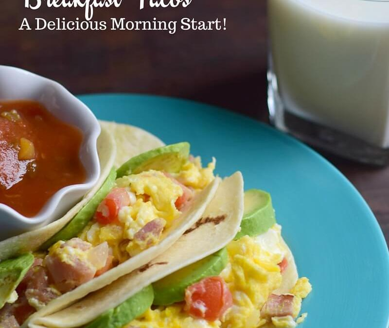 Breakfast Tacos Recipe #MyMorningProtein ad