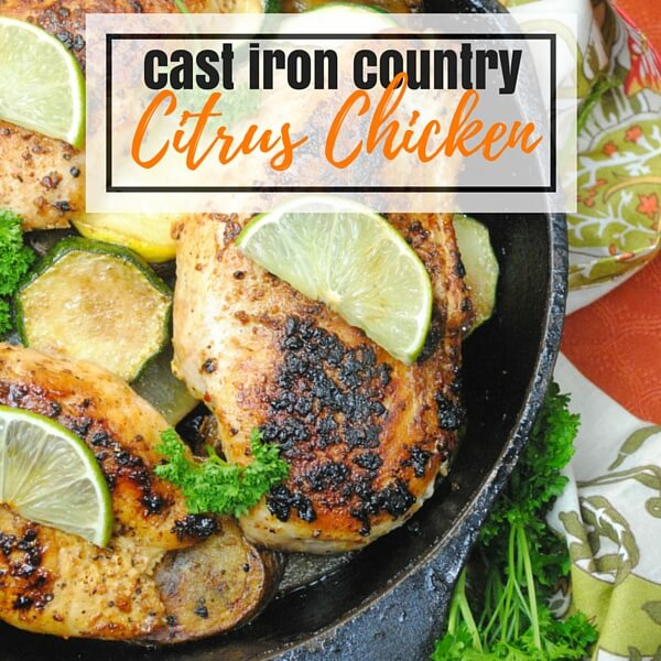 Cast Iron Country Citrus Chicken
