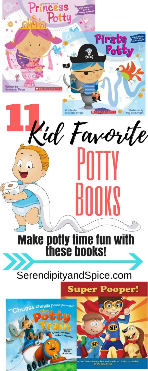 Kid Favorite Potty Books
