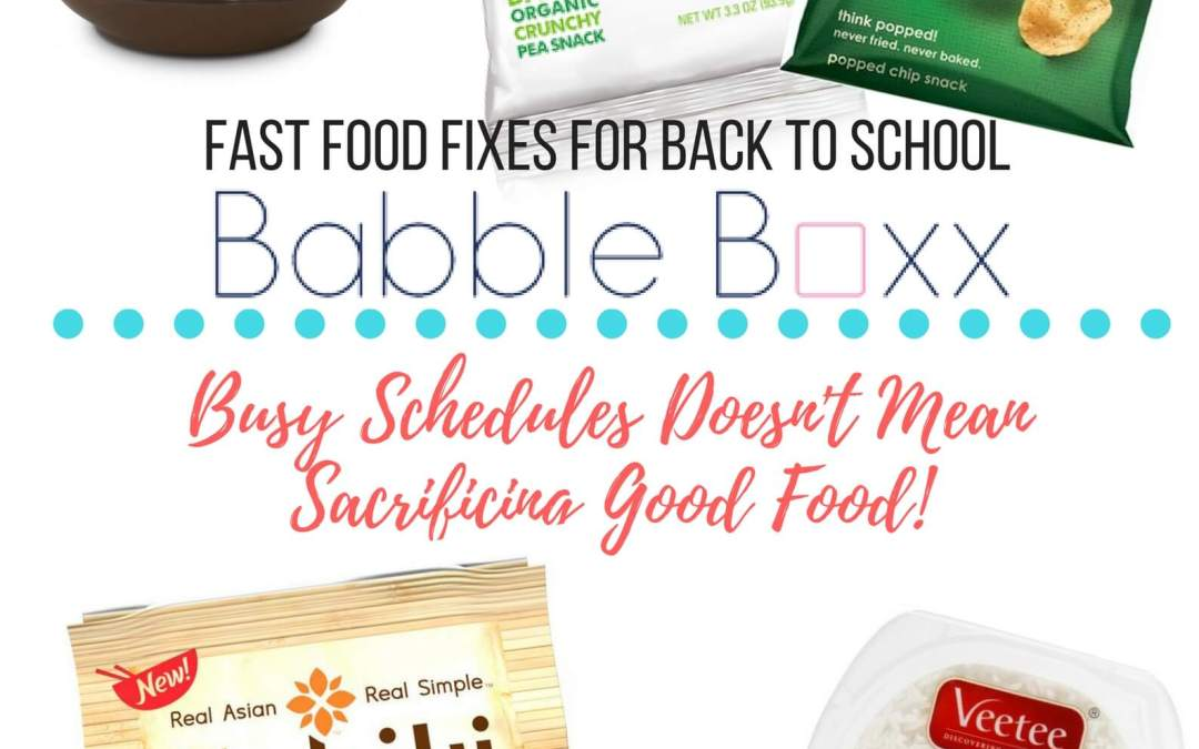 Babbleboxx – Time Saving Back to School Goodies