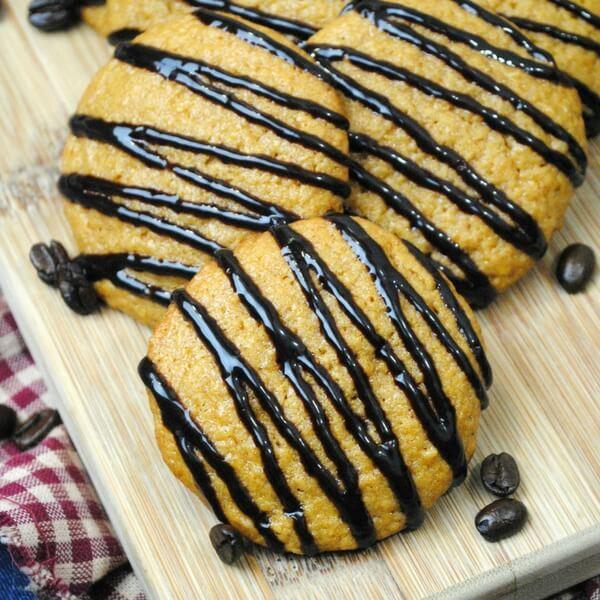 Espresso Pumpkin Spice Cookies Recipe
