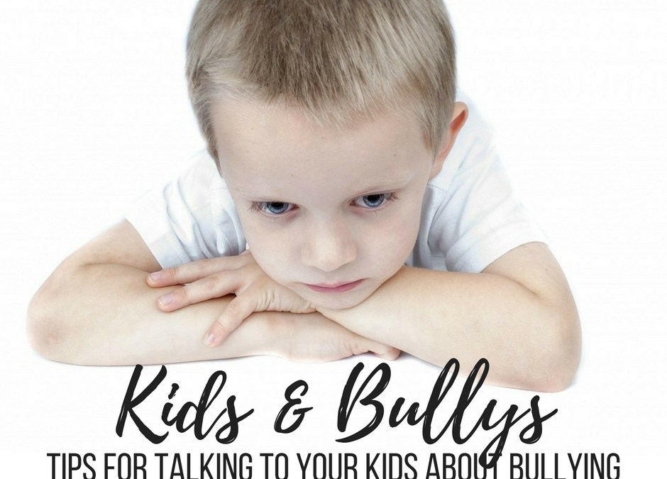 Talking to Kids About Bullying