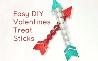 Easy DIY Valentines Treat Sticks