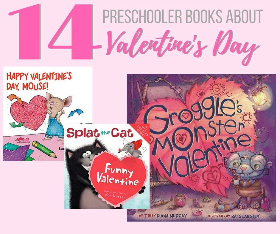 Valentine Books for Preschoolers
