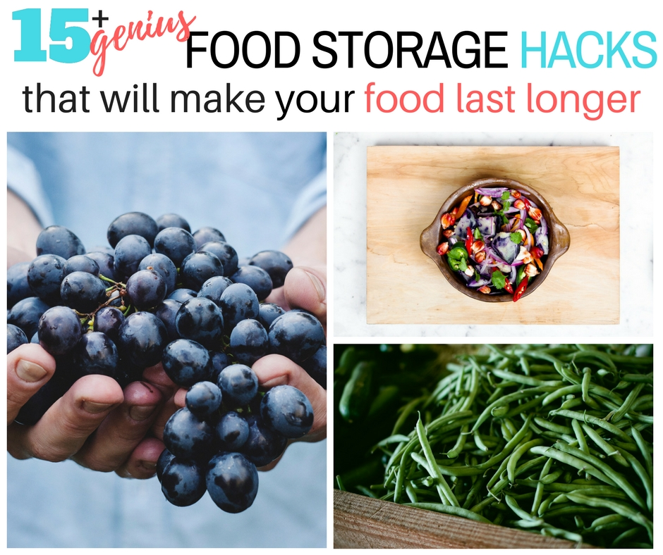 Genius Food Storage Hacks to Make Food Last Longer - Keep your food fresh longer with these simple kitchen storage ideas.