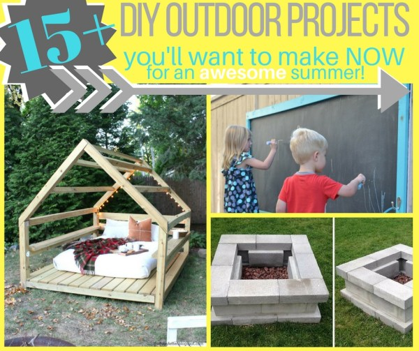 DIY outdoor projects to make your summer awesome!