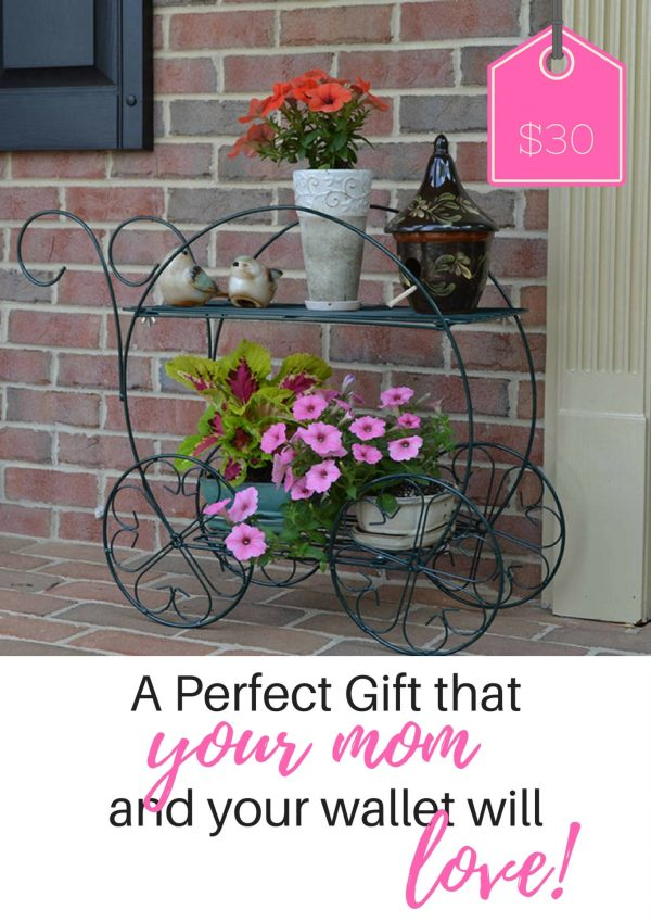 CobraCo 2 tier garden cart-- the perfect mother's day gift for mom!  Click for the best pricing I've found