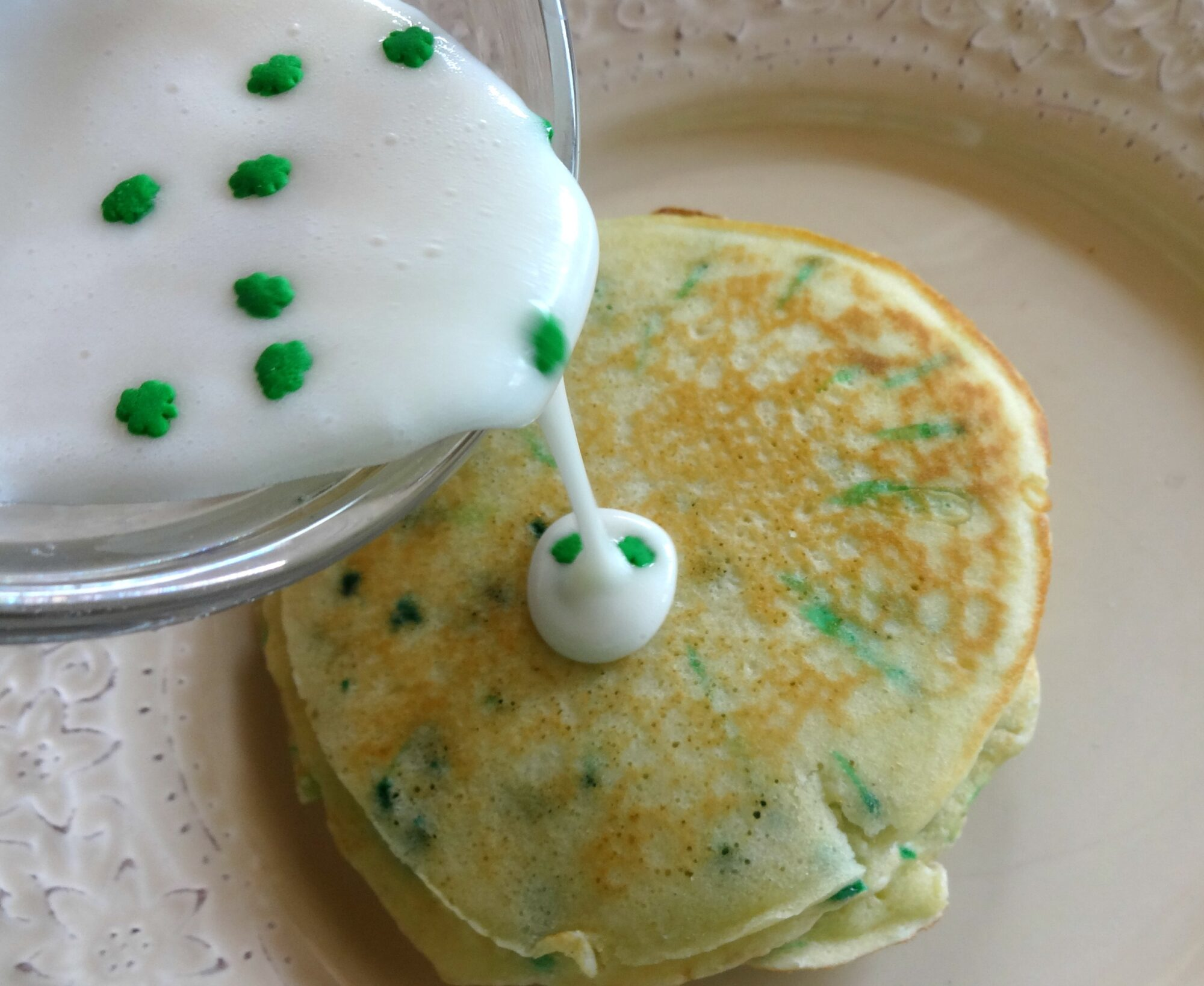 Birthday Cake Pancakes with Homemade Cake Batter Serendipity by