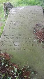The inscription on one half.