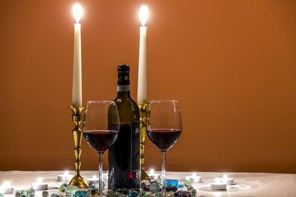 Vinos para cena romántica