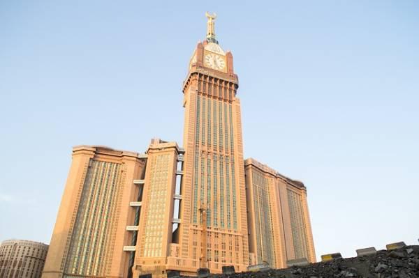 Edificios más altos del mundo - torre del reloj real
