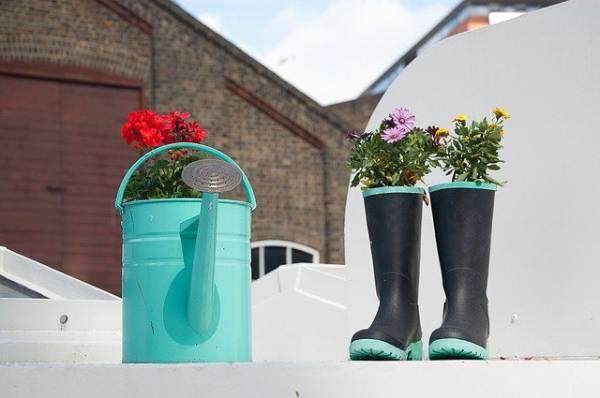 reutilizar ropa vieja - botas