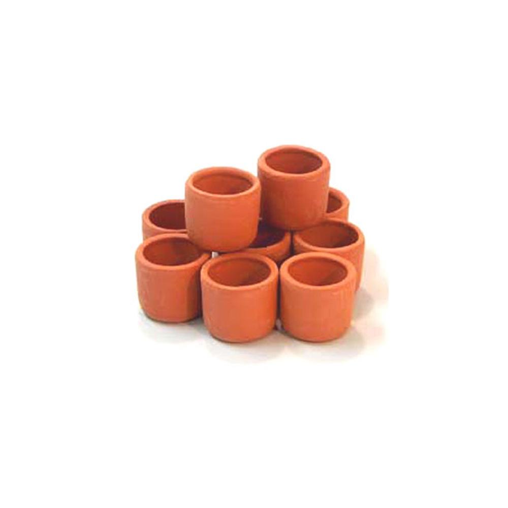 Terracotta Pots 3cm x 10