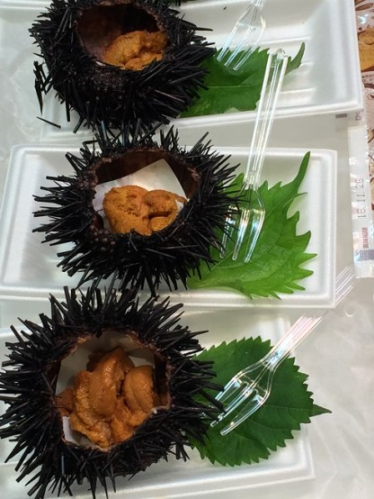 I wanted to eat uni..and I did!