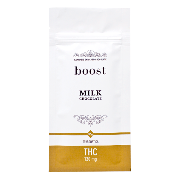 Boost thc 120mg milk chocoalte Serene Farms Online Dispensary