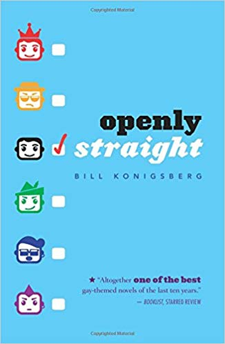 Openly Straight (#1) by Bill Konigsberg