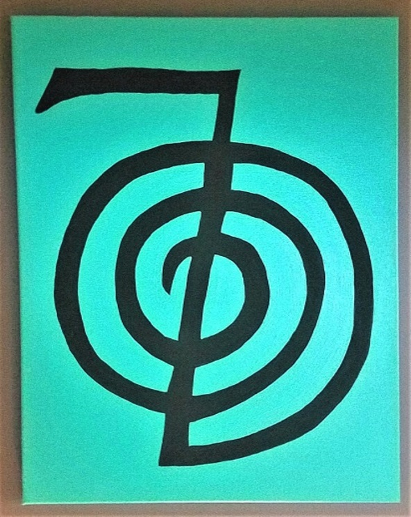 Reiki Power Symbol Painting