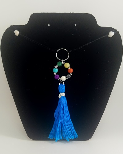 Chakra Tassel Necklace
