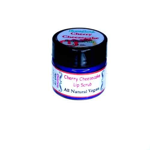 cherry cheesecake lip scrub