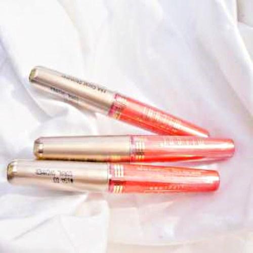 milani coral shimmer lip gloss