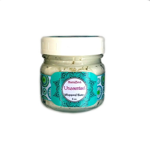 Unscented Whipped Soap