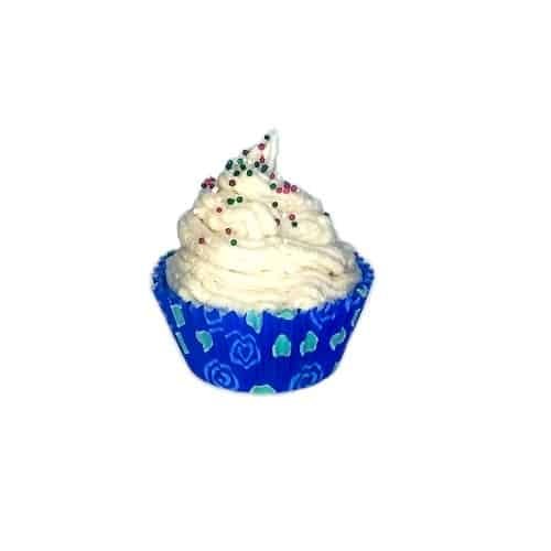 winter recovery cupcake soap